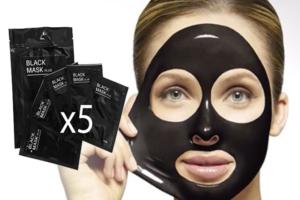 Charcoal black sugar facial polishing mask charcoal black sugar
