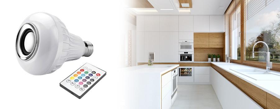 Comment utiliser le Smart-Home LED Music Bulb?