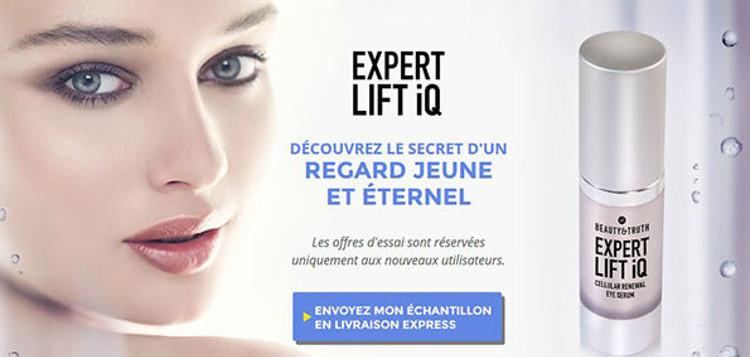 Expert Lift iQ: les composants naturels du sérum contre les rides