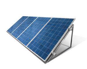 Des panneaux solaires de silicium polycristallin