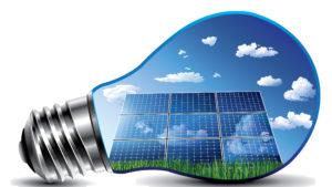 Des panneaux solaires de silicium monocristallin