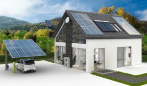 Les systèmes d'énergie solaire naturelle et forcée