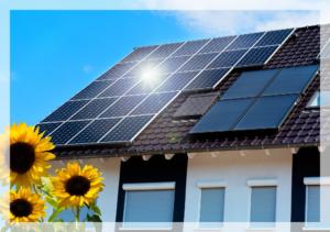 Économies d'énergie grâce à des panneaux solaires