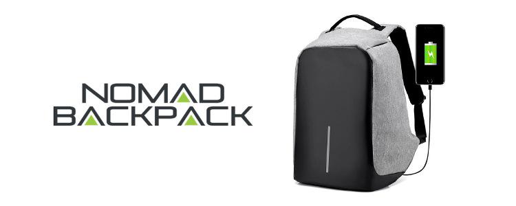 Nomad Backpack: les principales fonctions du sac à dos