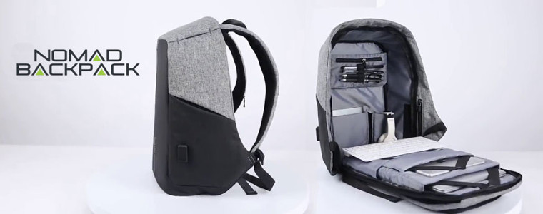 Nomad Backpack: conception et exécution