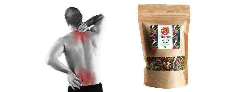 La composition naturelle de thé sur la douleur dans les articulations Tibettea Active Joint amazon