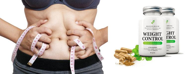Weight Control - composants, garantissant l'efficacité de la préparation