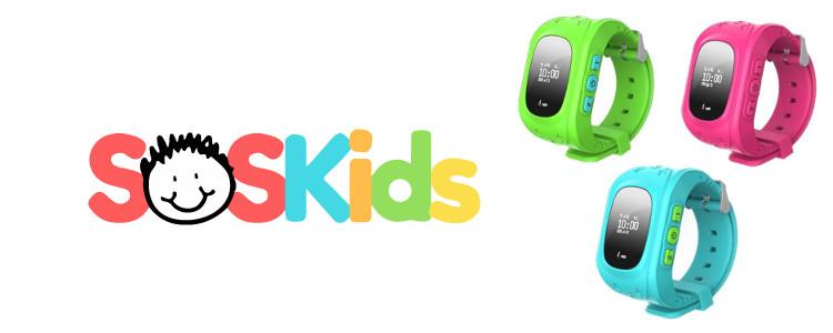 SOSKids Watch - les principales caractéristiques et l'action