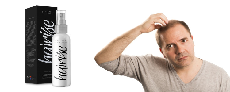 Hairise Spray - méthode pour la calvitie et la chute des cheveux