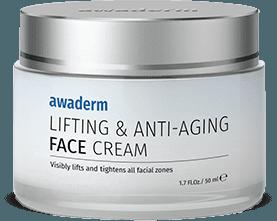 Awaderm Lifting & Anti-Aging Face Cream - la meilleure crème pour les rides