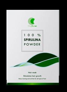 Spirulina Mask avis - masque pour la perte de cheveux et la calvitie