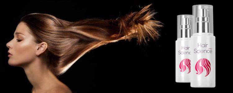 Hair Science – puissant, cheveux denses avec la première application