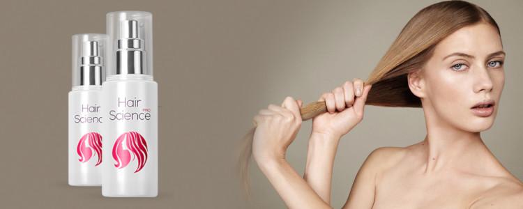 Hair Science - vaincre le problème de la perte de cheveux