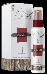 Asami – arrêter la perte de cheveux