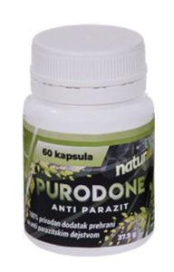 Purodone un complément alimentaire pour les parasites