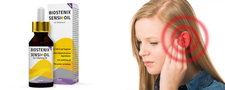 Biostenix Sensi Oil - gouttes auriculaires naturelles