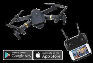DroneX Pro - un appareil pour prendre de bonnes photos