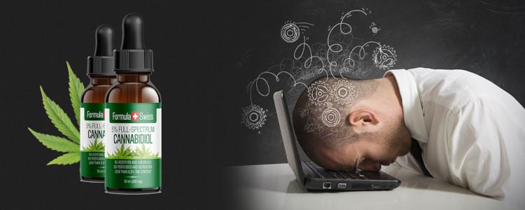 Cannabidiol CBD aceite de efectos rápidos y duraderos.