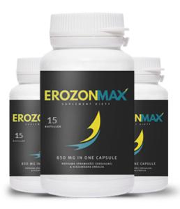 Erozon Max pharmacie produit est disponible dans une pharmacie qui fonctionne vraiment