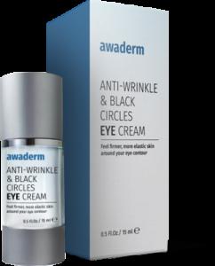 Qu'est-ce que Awaderm eyes cream? Comment fonctionne la crème?