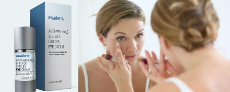 Combien coûte Awaderm eyes cream? Comment commander à partir du site Web du Fabricant?
