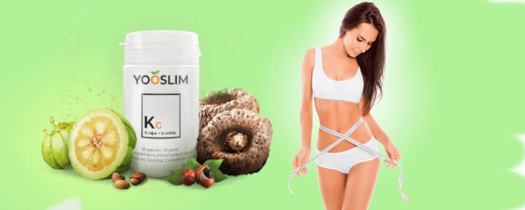 Effets d'application YooSlim. Des effets secondaires? Ingrédients de supplément.