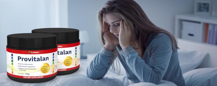 Combien de temps faut-il pour voir l'effet Provitalan? Y a-t-il des effets secondaires? Quelle composition?