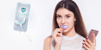 Mobile White Teeth Whitening - Kit de blanchiment des dents avancé et mobile.