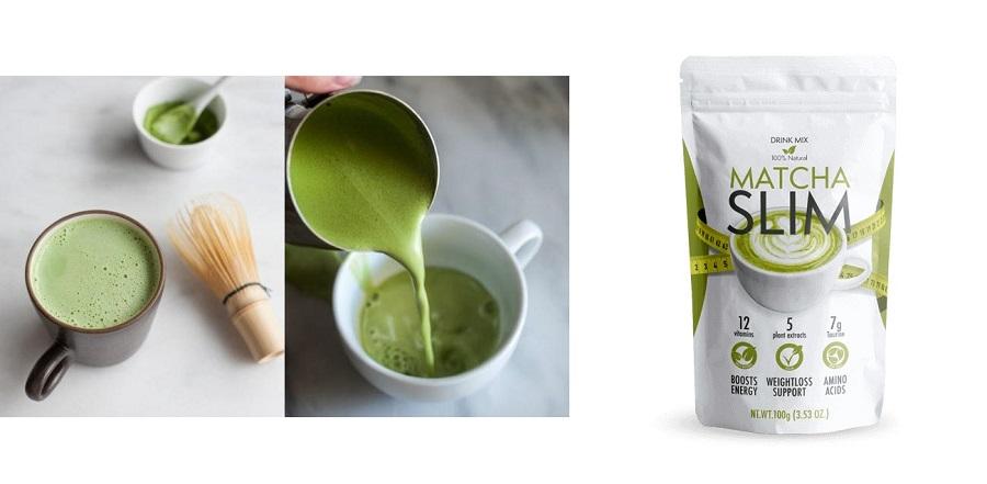 Matcha Slim - des ingrédients naturels et sûrs
